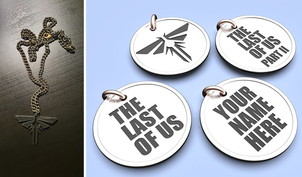 Last of Us Firefly cosplay accessories to 3D print