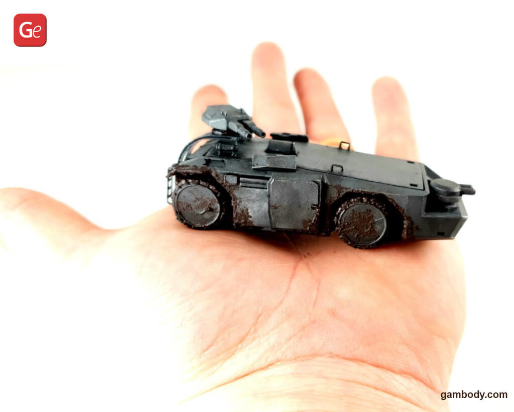 M577 Armoured Personnel Carrier 3D printed model