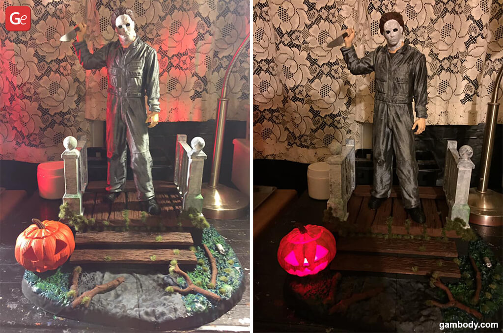 Halloween Michael Myers figurine fun things to 3D print