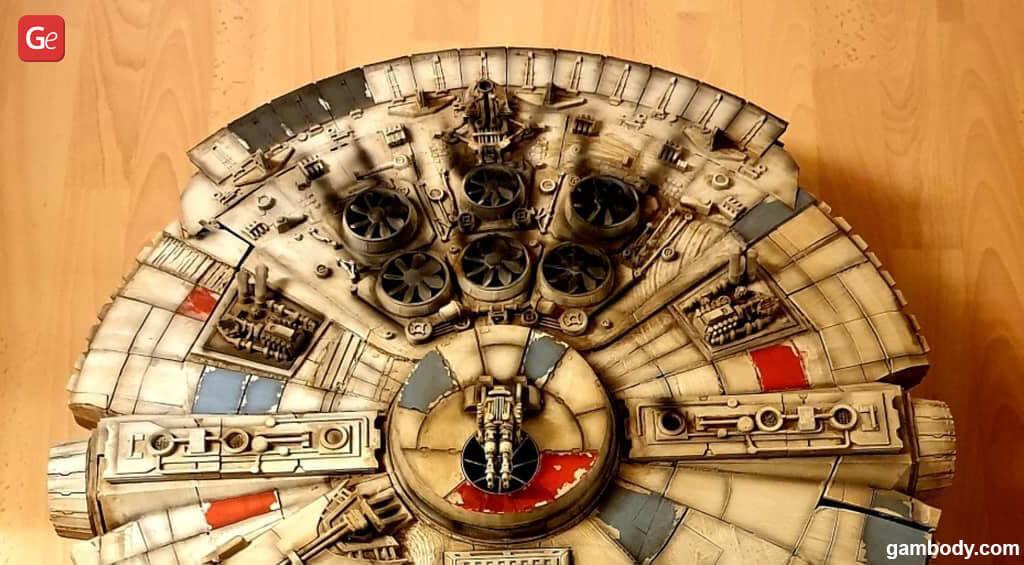 Best Millennium Falcon 3D printer model