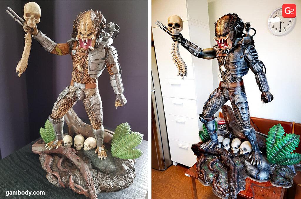 Predator 3D print