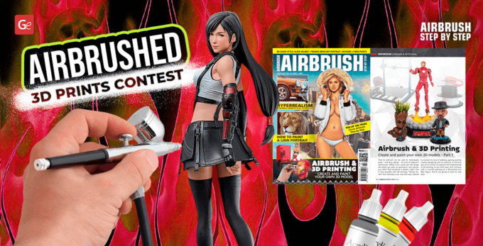 Airbrushed 3D Prints Contest