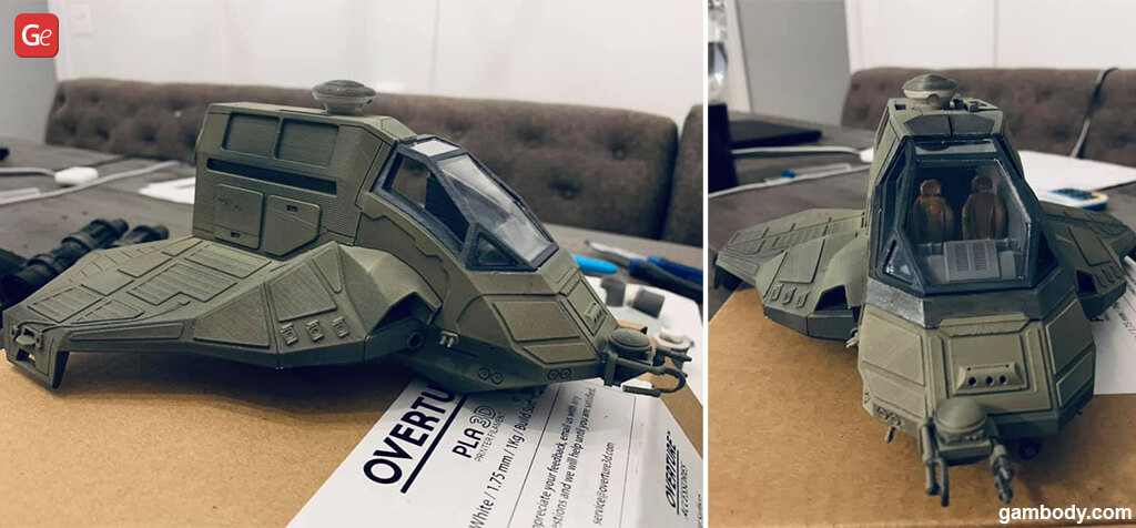 BSG Raptor ship best 3D prints