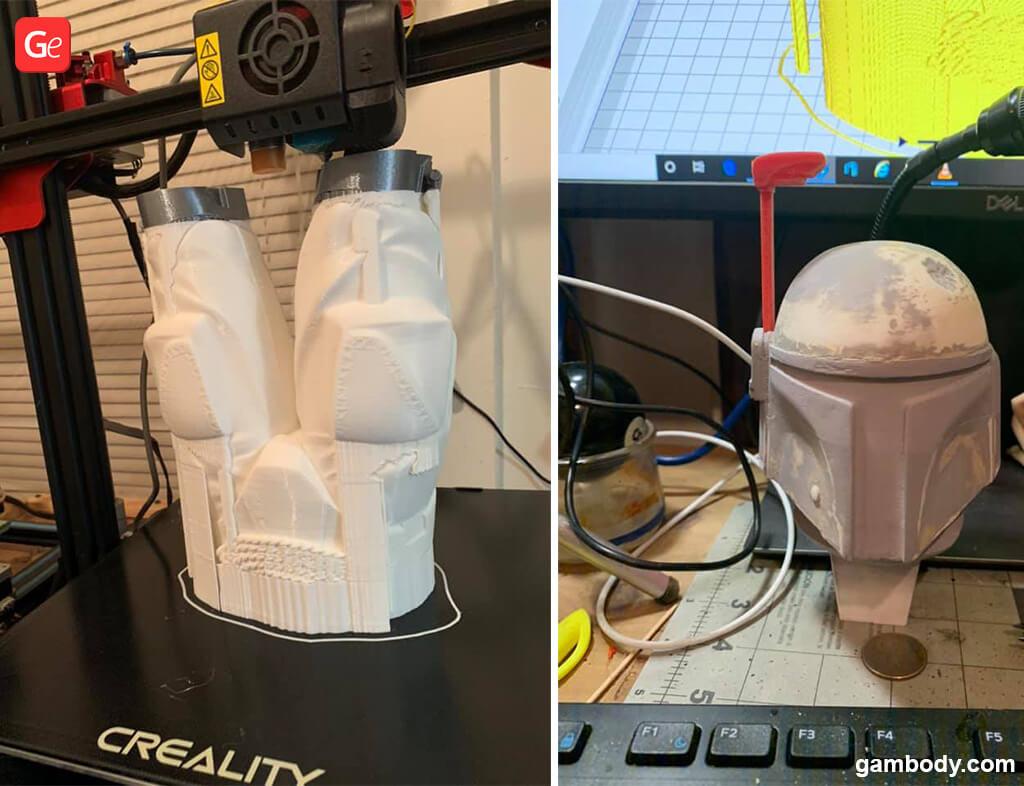Boba Fett 3D print