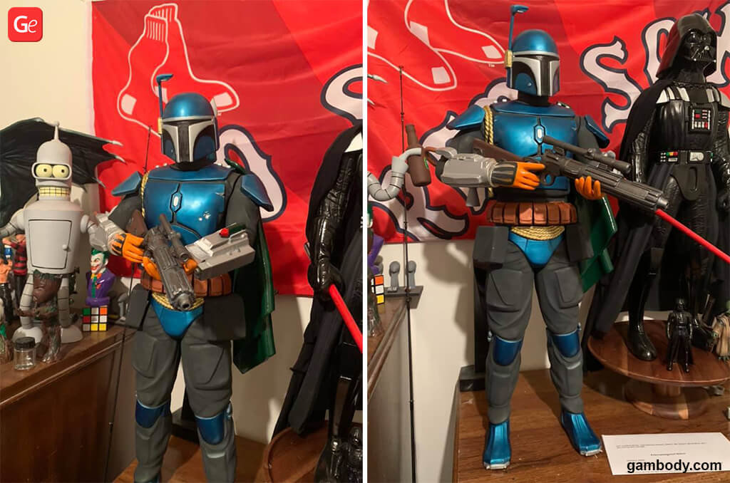 73 cm Boba Fett 3D print from Star Wars