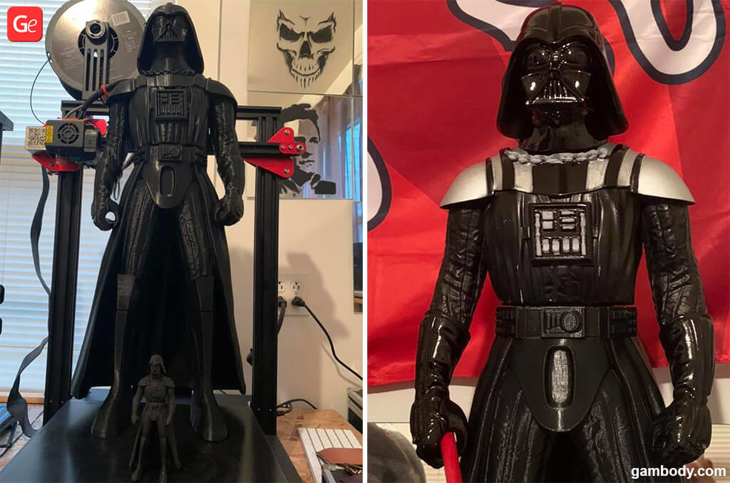 Star Wars Darth Vader models for 3D printing