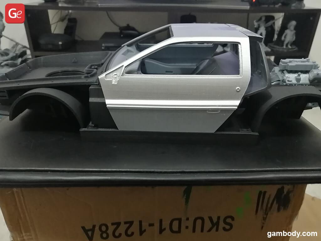DeLorean car best 3D prints
