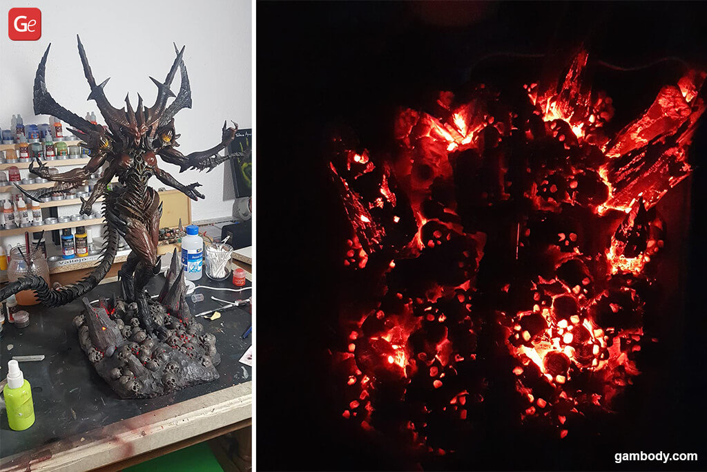 Lord of Terror Diablo figurine best 3D prints 2020
