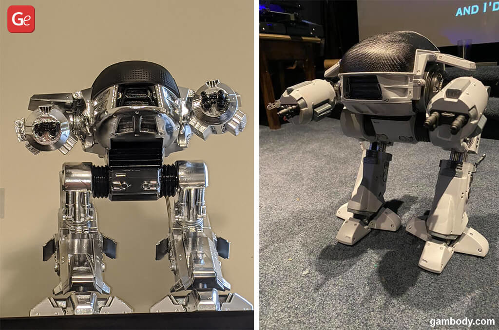 ED-209 RoboCob best models for 3D printing 2020