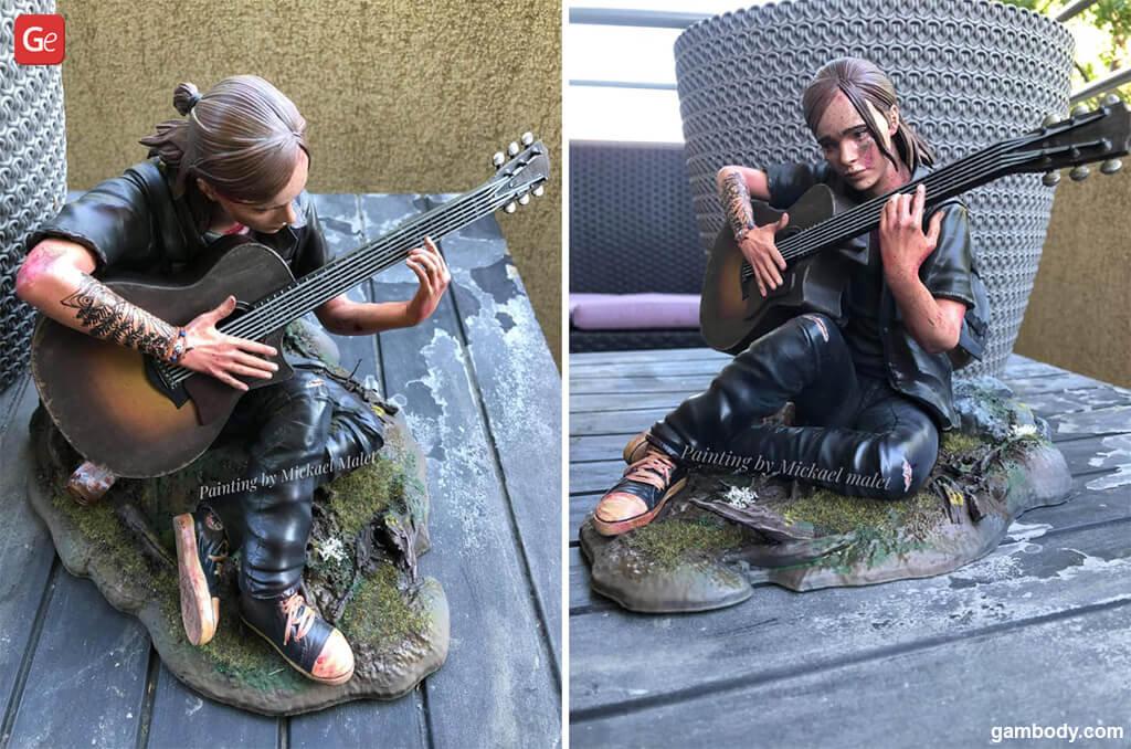 Ellie Last of Us 2 best models for 3D printing 2020