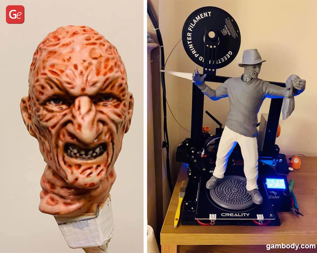 Freddy Krueger figurine