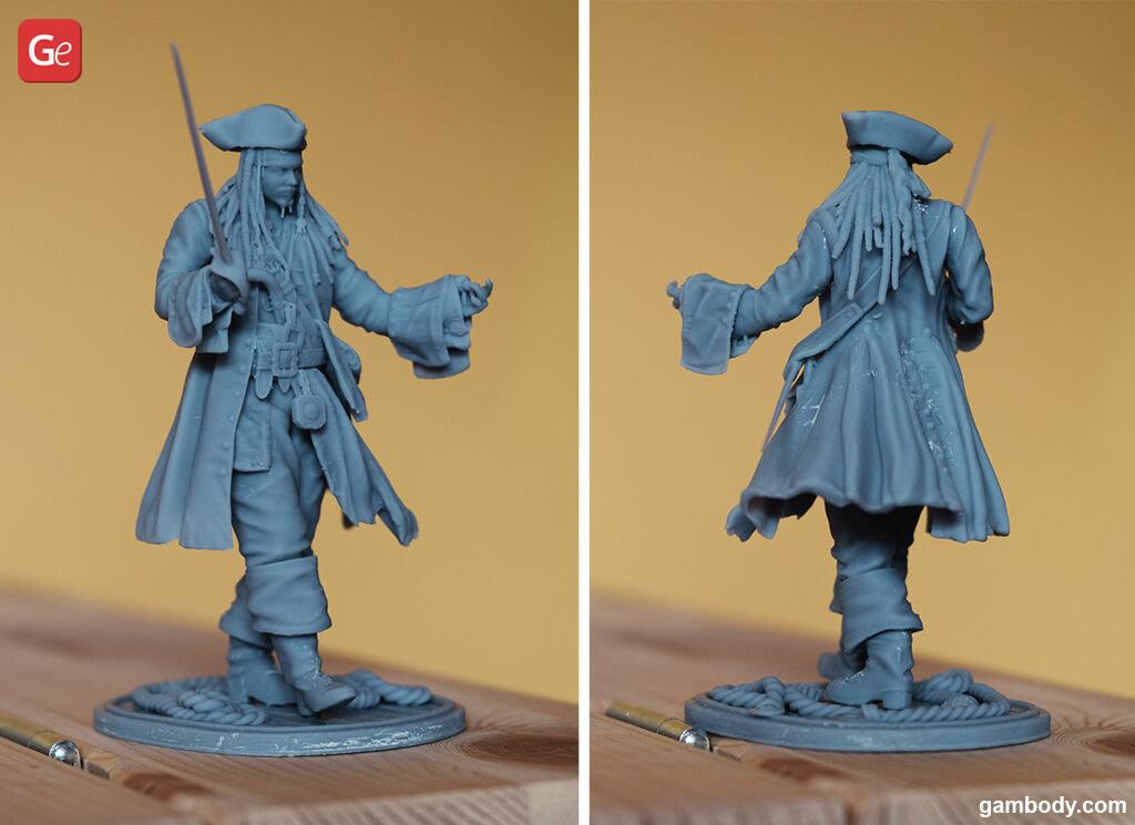 Jack Sparrow best 3D printing models 2020