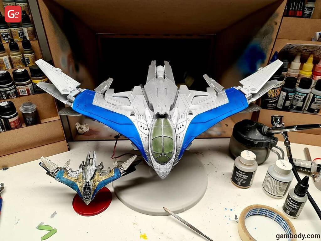 Milano starship best models for 3D printing 2020