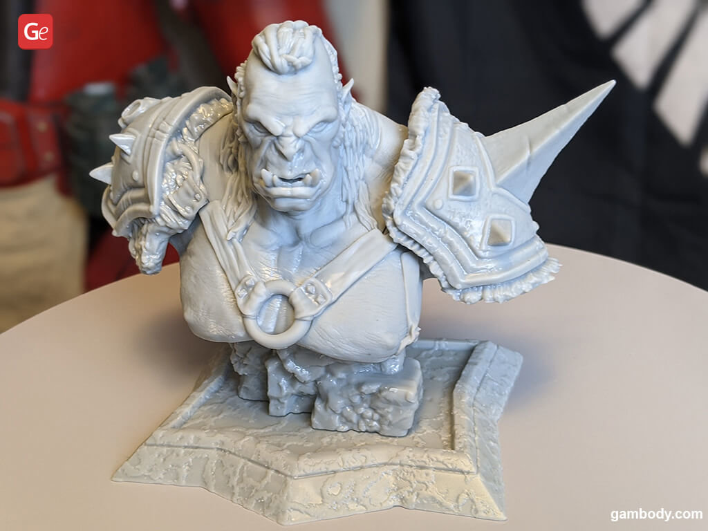 Orc The Executioner 3D printed monsters