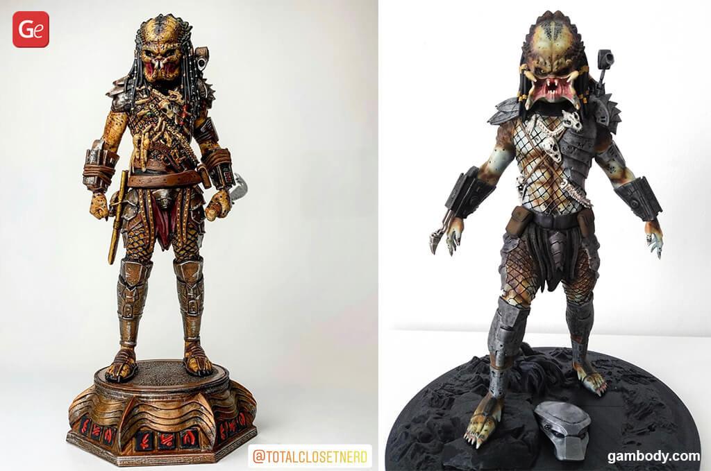 Predator figurine best 3D prints 2020
