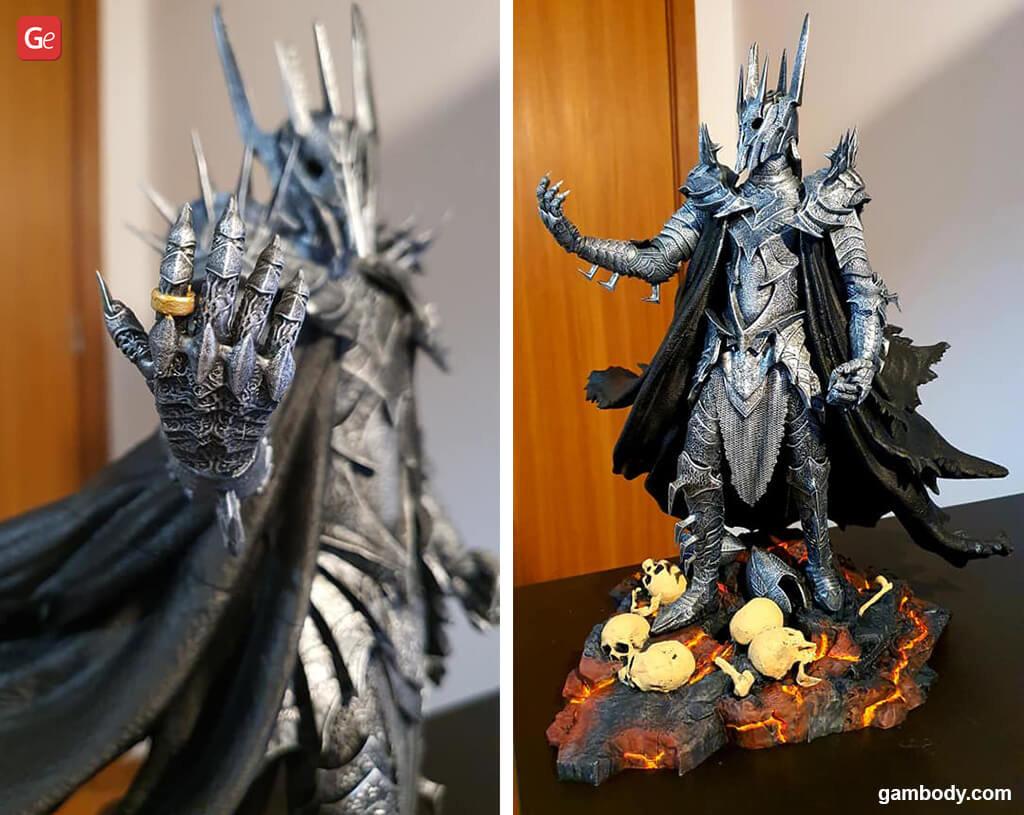 Sauron best models for 3D printing STL files 2020