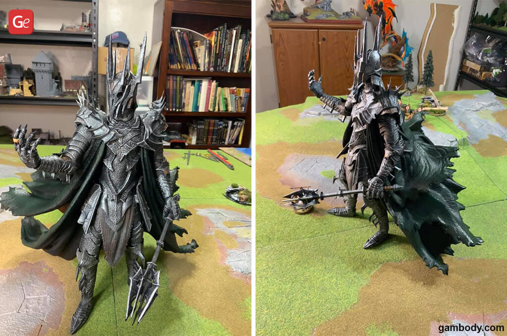 Lord of The Rings Sauron best 3D prints 2020