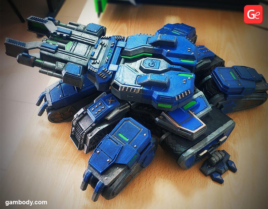 Siege Tank best 3D prints vehicle