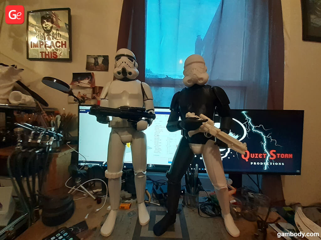 Star Wars Stormtroopers figurines 3D printed