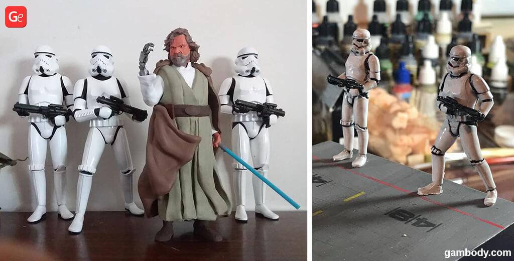 Stormtroopers figure Mandalorian 3D models for printing