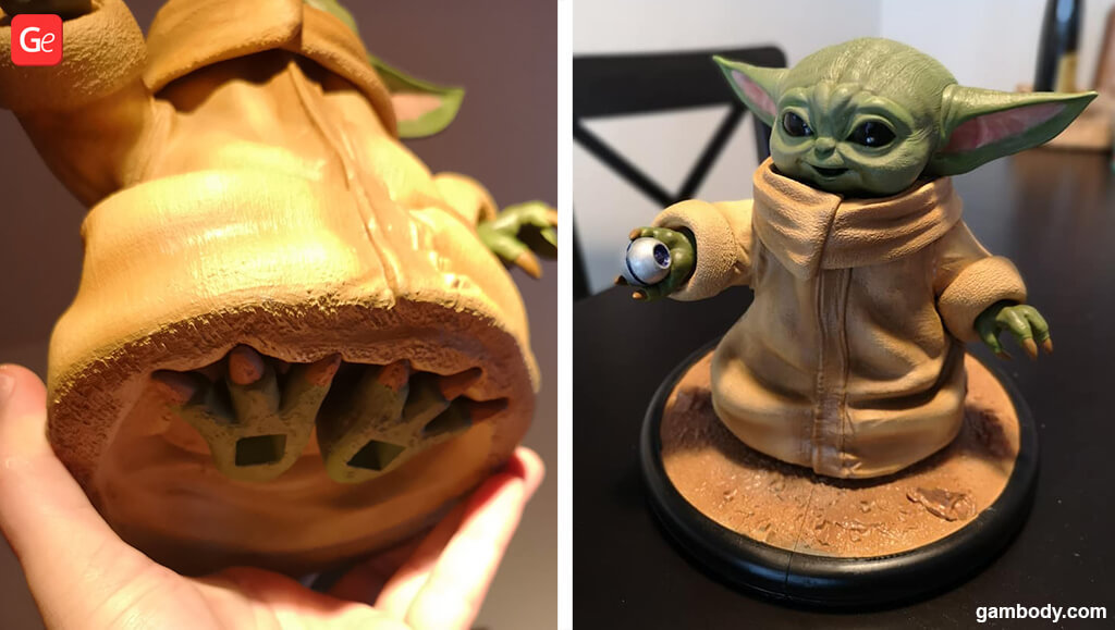 Grogu 3D printing model Mandalorian Season 2