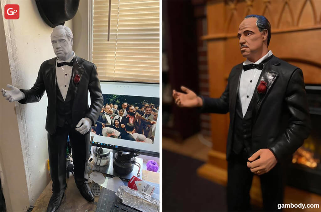 The Godfather 3D printing model