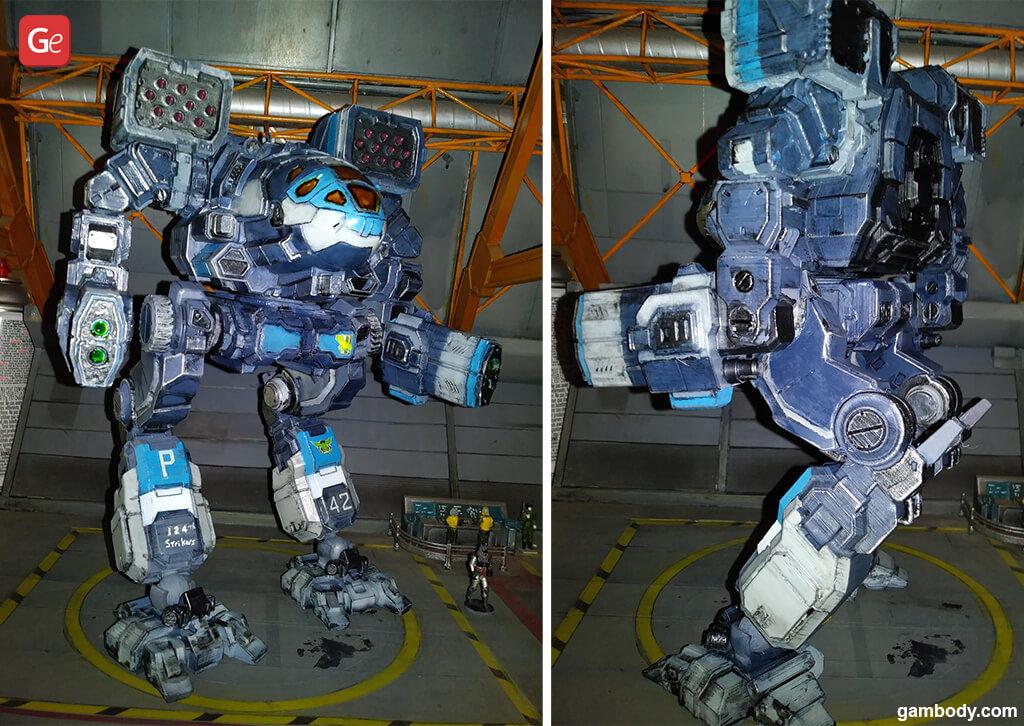 Timber Wolf mech best 3D prints 2020