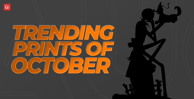 Your Best 3D Prints 2020: Monstrous Dose of October Inspiration