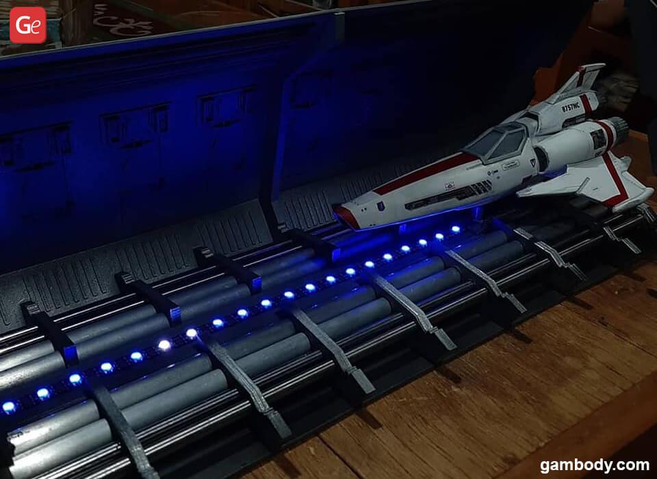 Viper Mk II starship best 3D prints 2020