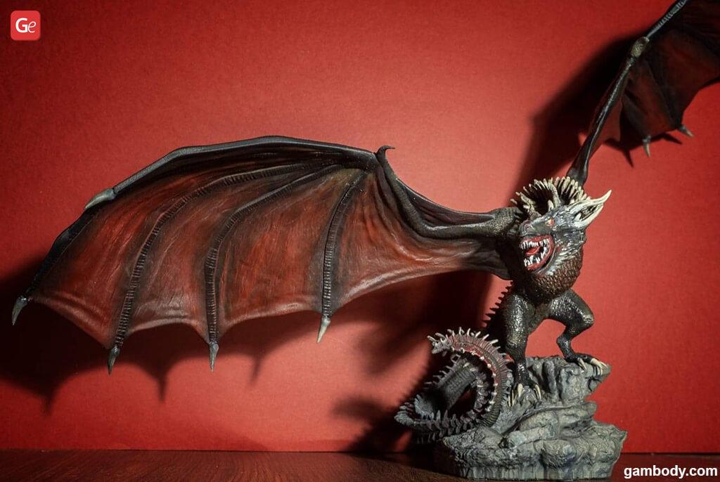 Viserion dragon best STL files for 3D printing