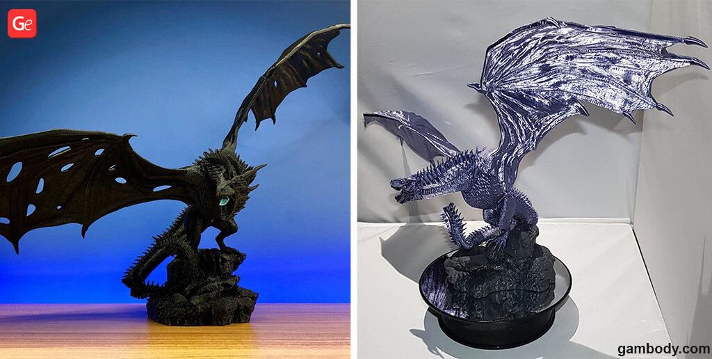 Dragon Viserion best models for 3D printing