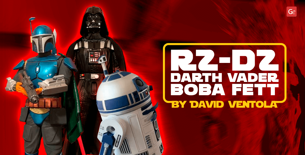 Top Star Wars Models for 3D Printing: R2-D2, Darth Vader, Boba Fett Made by David Ventola
