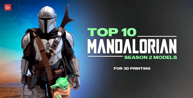 Top 10 Mandalorian Season 2 Model STL Files to Make Epic Figures