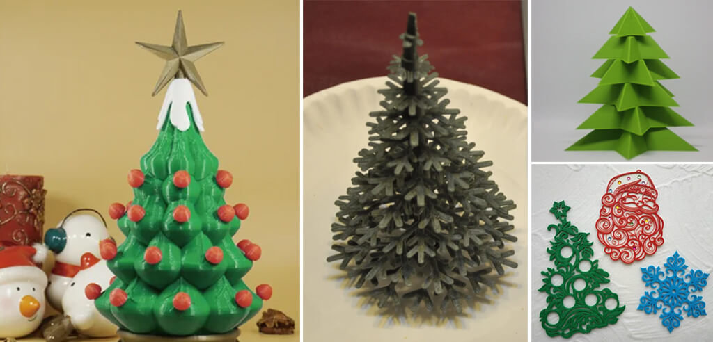 Christmas tree 3D printed