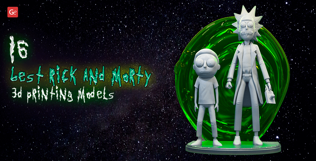 Rick & Morty 3D printing models STL files