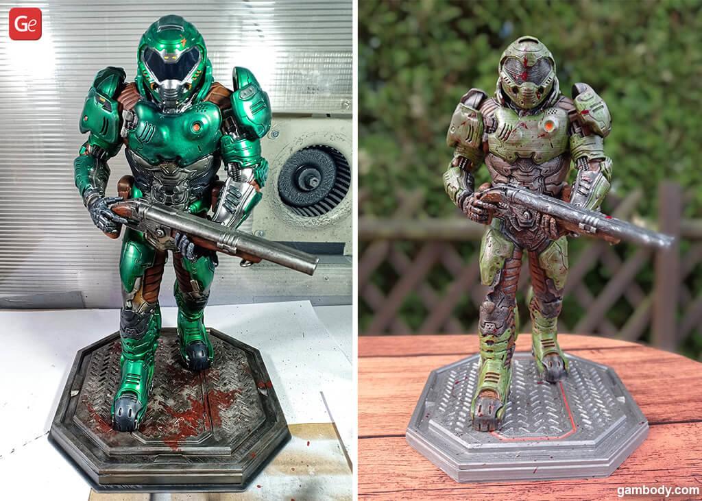 Doom figurine Christmas presents for men