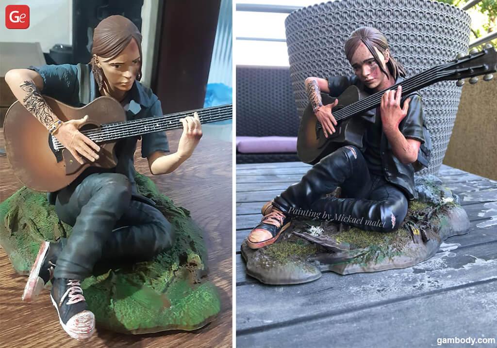 Last of Us 2 Ellie Christmas 3D prints