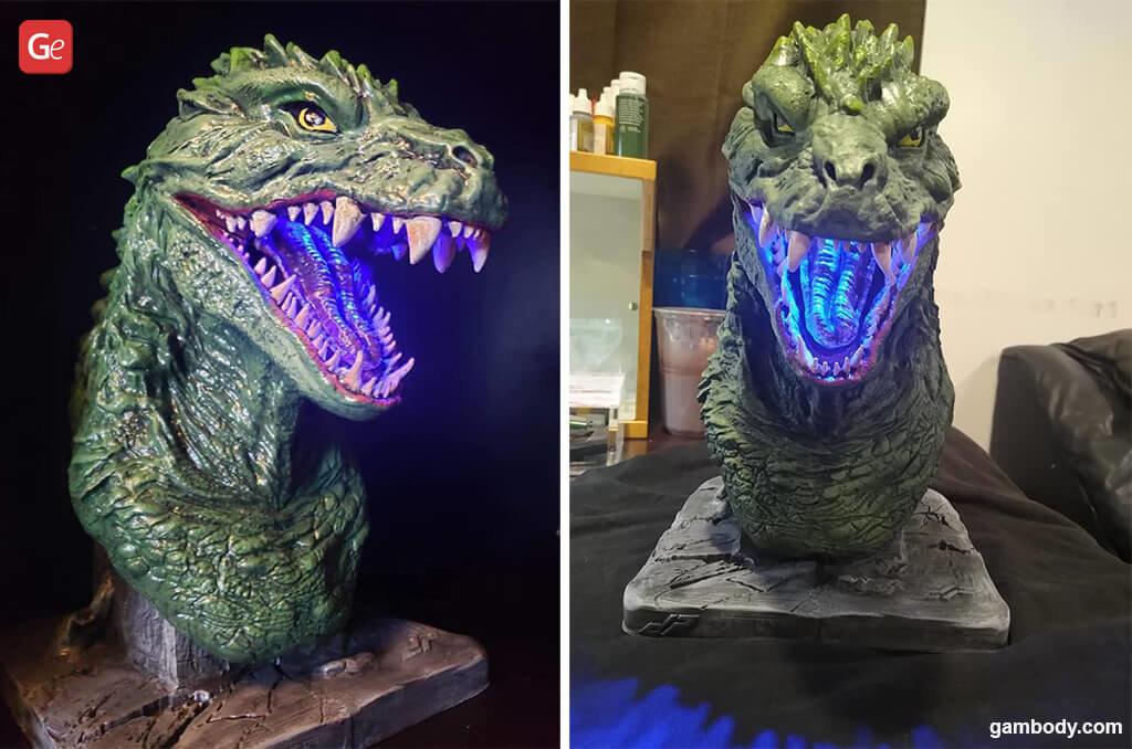 Godzilla 3D printing Christmas gifts guide