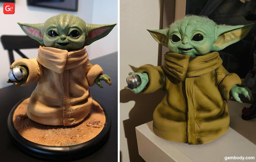 Grogu Baby Yoda 3D print Christmas gift guide 2020