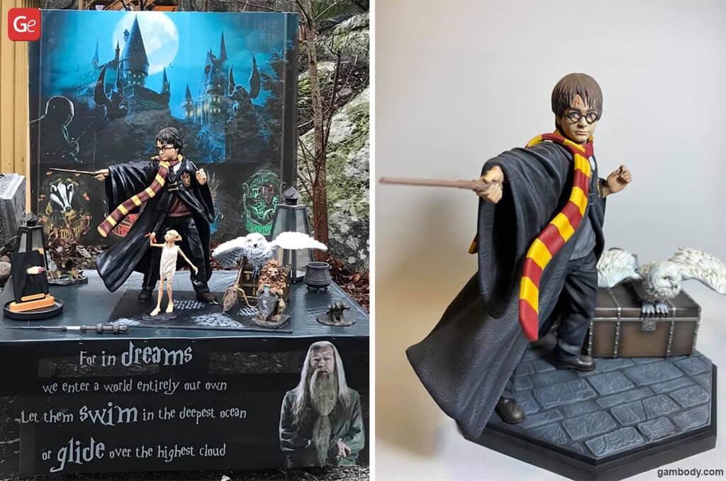 Harry Potter 3D print Christmas gift guide for kids