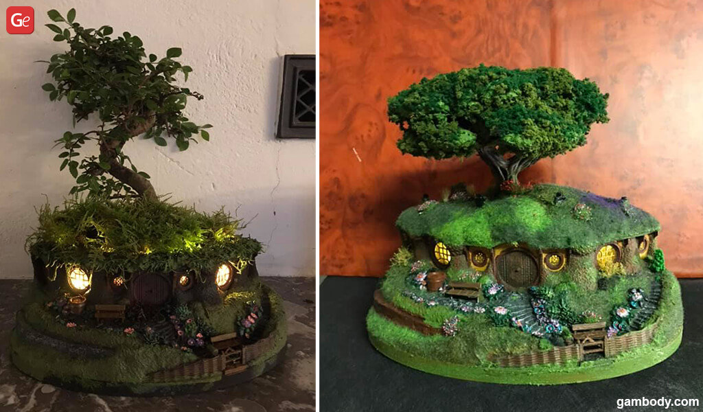Christmas gifts for wife 3D printed bonsai pot