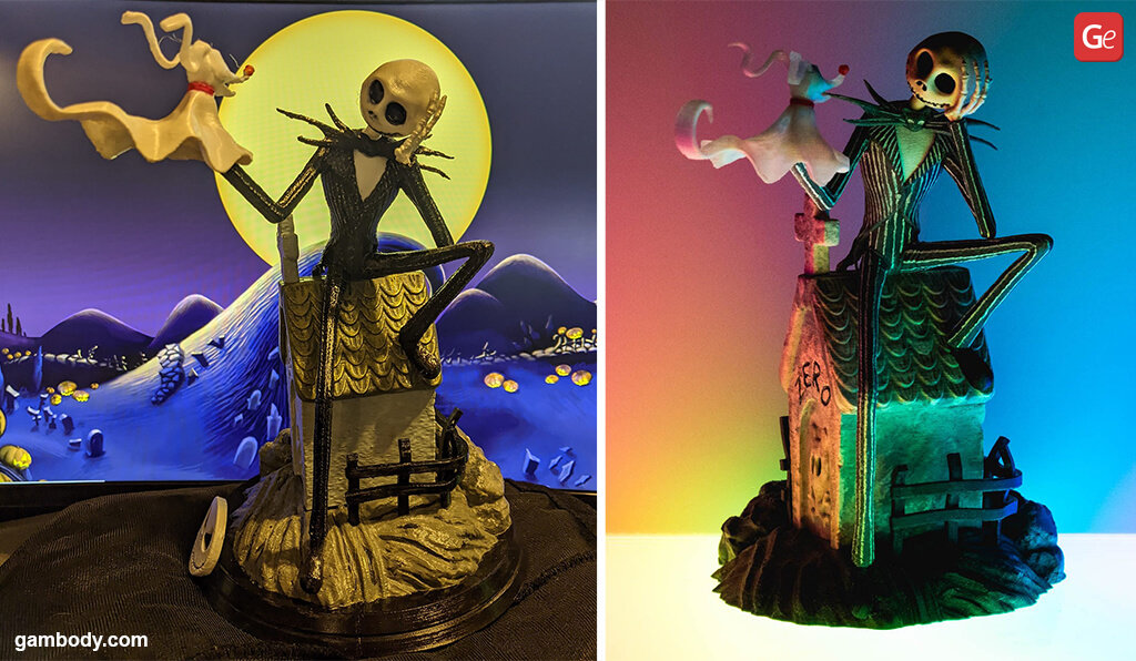 Jack Skellington Nightmare before Christmas 3D printing ideas