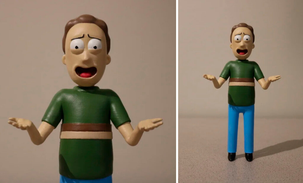 Jerry Smith figure for 3D printing from Rick and Morty