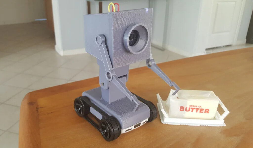 Pass the Butter robot from Rick & Morty for 3D printing