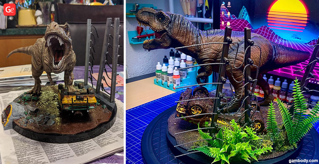 T-Rex Christmas 3D printing gift guide for kids
