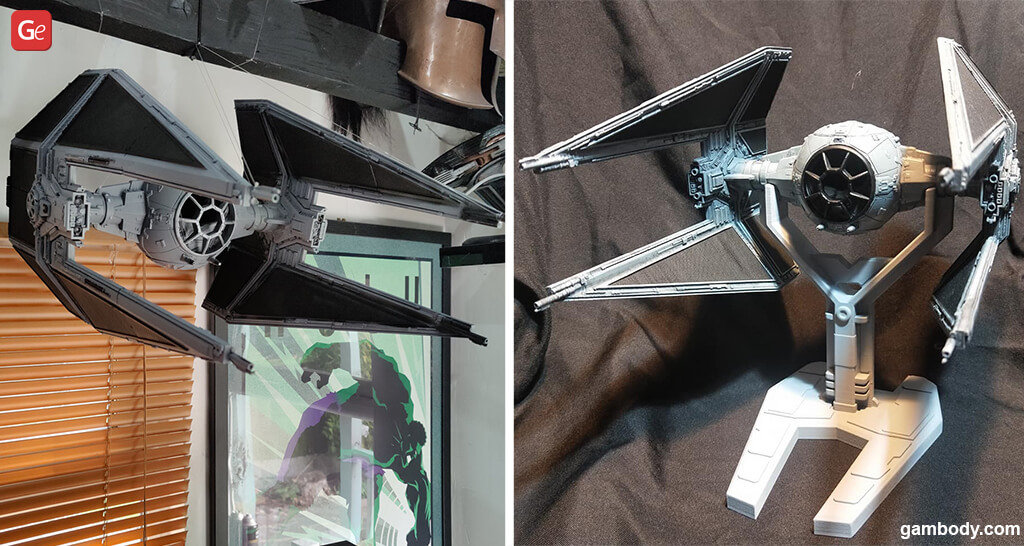 TIE Star Wars fighter 3D printing gift guide for men