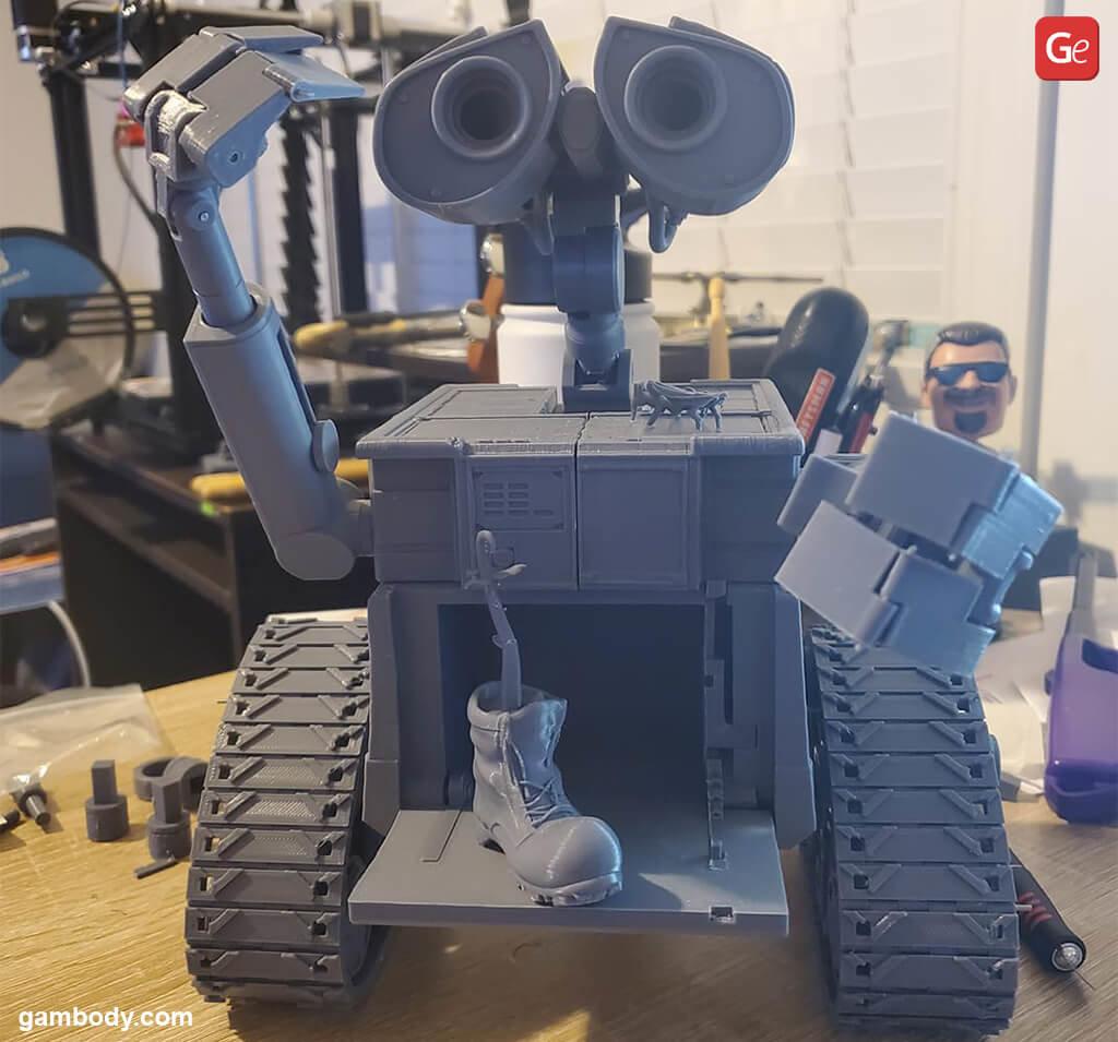 WALL-E robot 3D printing Christmas gifts