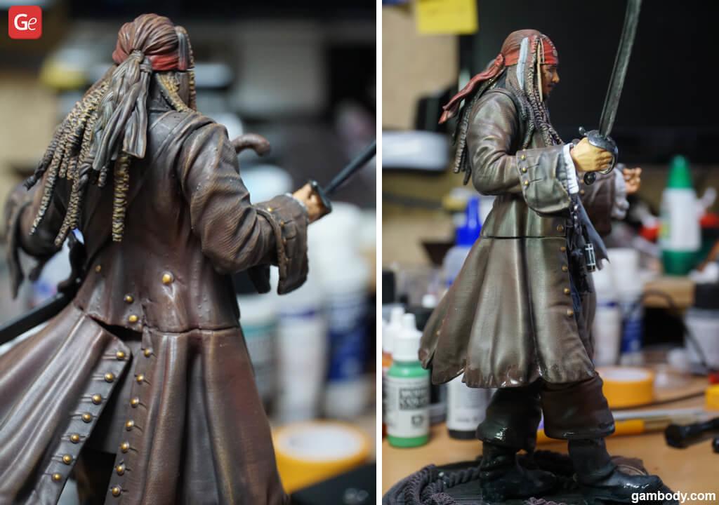 Jack Sparrow 3D print model
