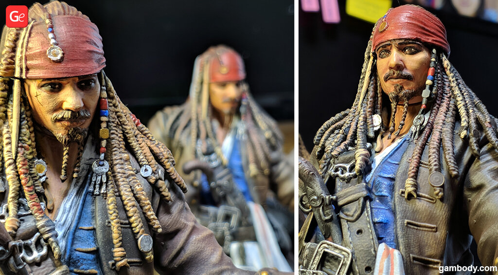 Jack Sparrow 3D print figure
