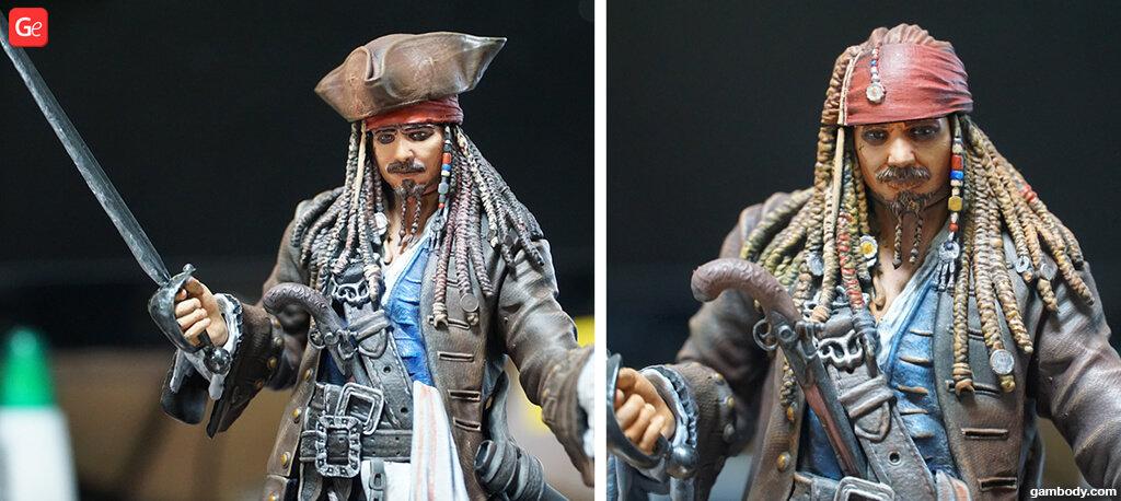 Jack Sparrow 3D print